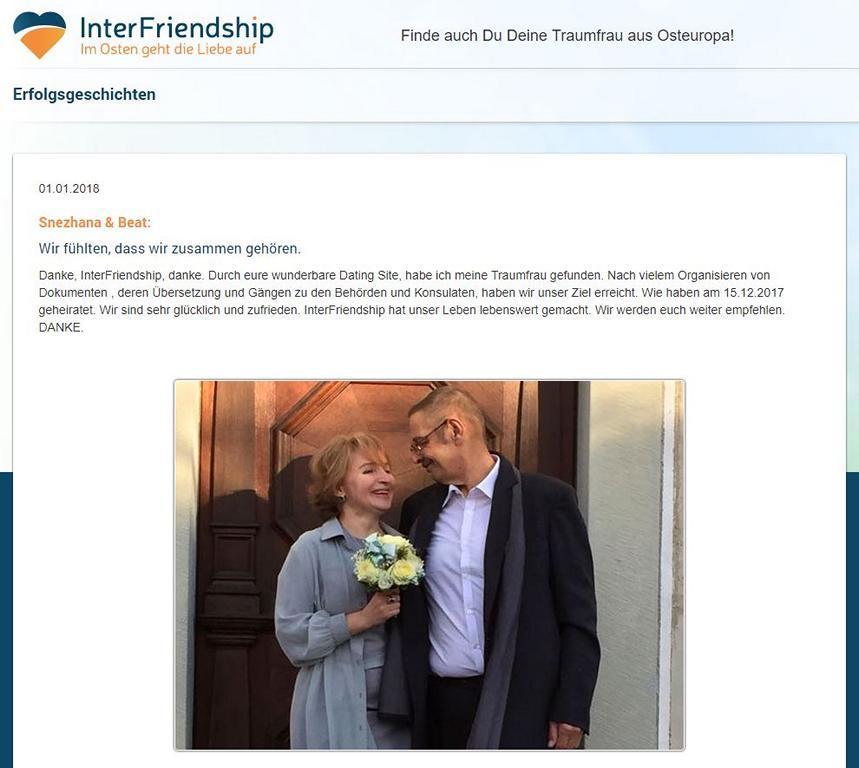 Interfriendship Erfahrungen