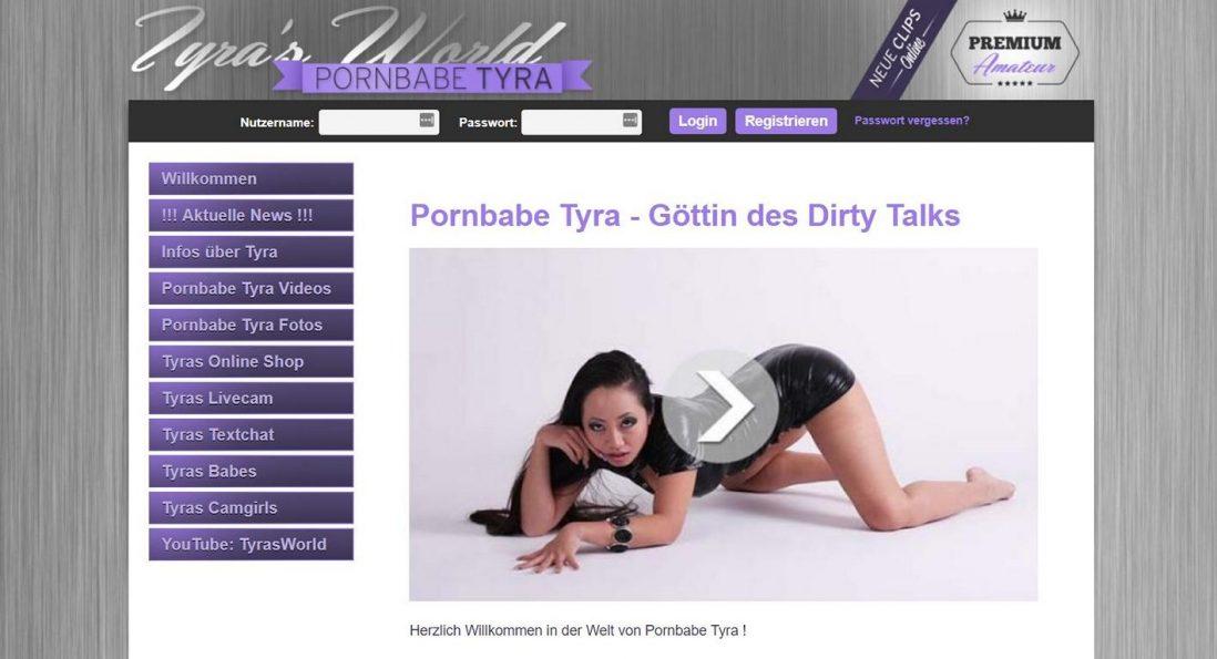 Pornbabe Tyra - Heiße Videos der Amateur-Erotikdarstellerin